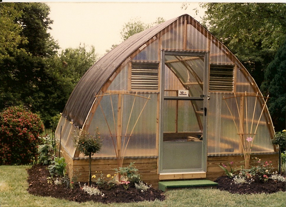 Keep Plants Safe With A Gothic Arch Greenhouse