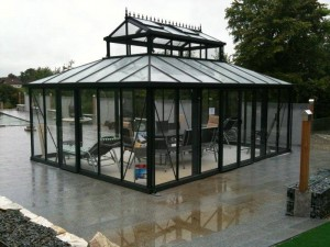 Glass Greenhouse - Gothic Arch Greenhouses