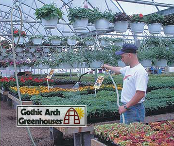 Benefits Of Greenhouse Irrigation Systems Gothic Arch