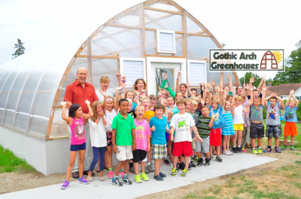 Gothic Arch Greenhouse School Greenhouse Education Careers