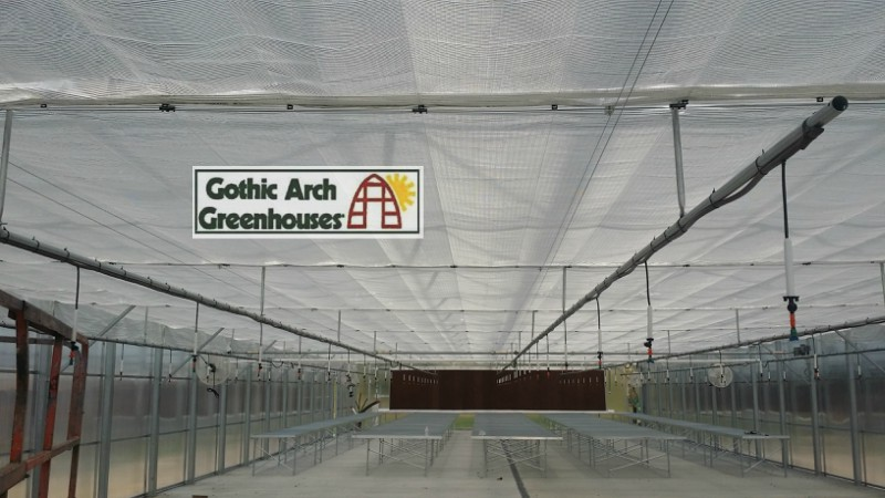 Greenhouse Irrigation New Technology Gothic Arch Greenhouse