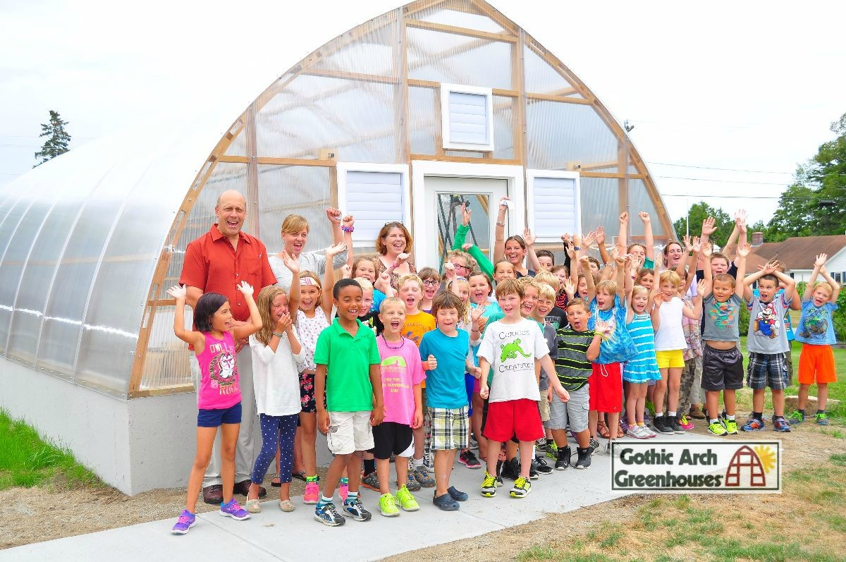 Gothic Arch Greenhouse educational greenhouse horticulture