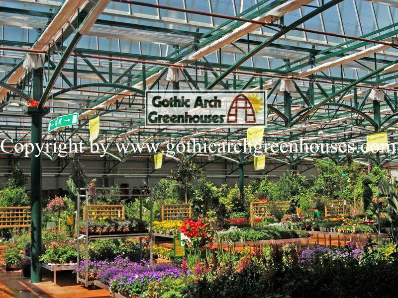 Make Fresh Start in Garden Gothic Arch Greenhouse