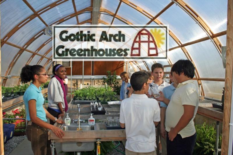 Organize Greenhouse Gothic Arch