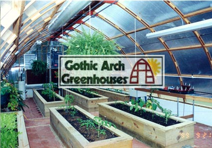 Gothic Arch Greenhouse Supplies