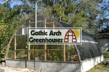 Gothic Arch Greenhouse Shade Cloth Uses