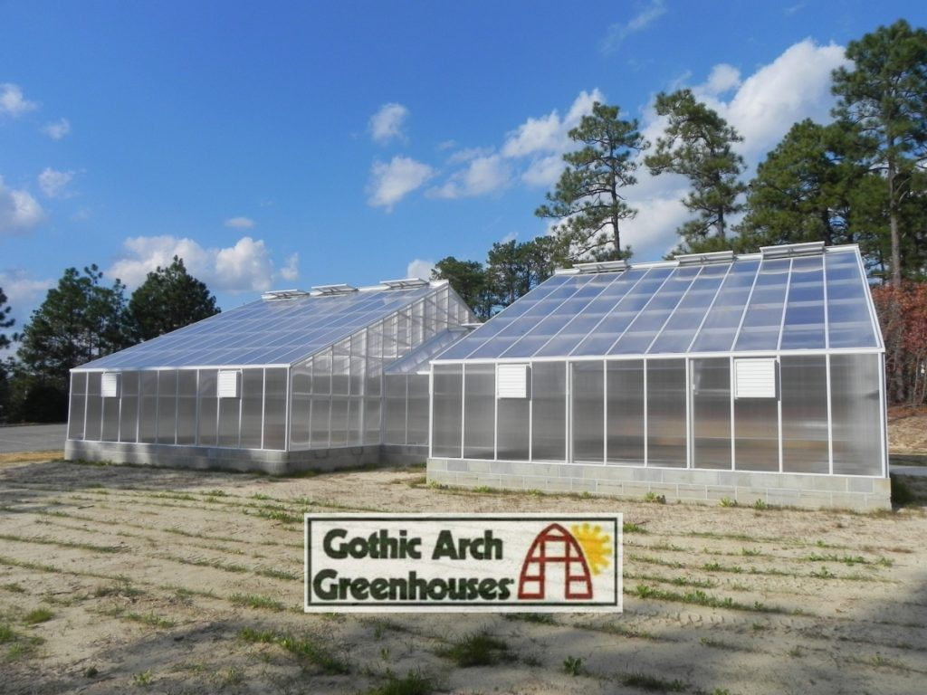 Greenhouse Coverings Gothic Arch