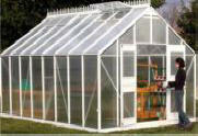 A beautiful European traditional  design`s greenhouse