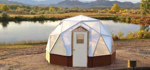 15 Ft Small Dome Greenhouse Kits Gothic Arch Greenhouses