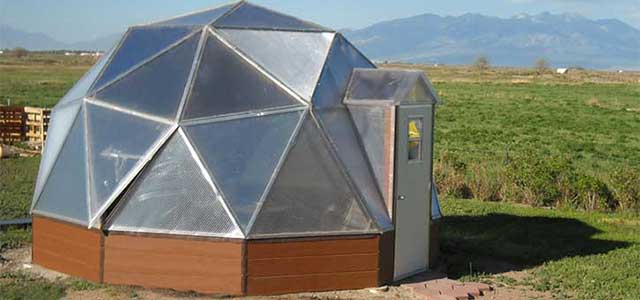 18' Dome Greenhouse