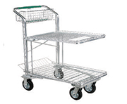 2-Shelf Shopping Carts