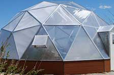 33' Dome Greenhouse Kits