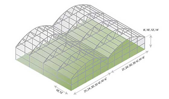 Arch Greenhouse Specifications