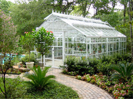 Home Greenhouse Ac Garden By Gothic Arch Greenhouses