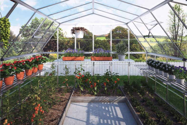 Americana Hobby Greenhouse Gothic Arch Greenhouses