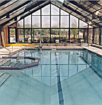Pool enclosures sale commercial greenhouse supplies for Swimming pool greenhouse