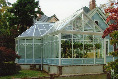 Sunroom Greenhouse Addition