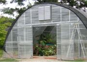 Corrugated  Greenhouse