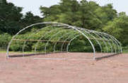 Cold Frames & High Tunnels - ClearSpan Round Cold Frame