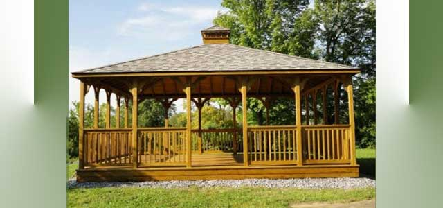 Garden Rectangular Gazebos