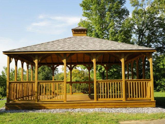 Gazebo Structure Gothic Arch Greenhouses