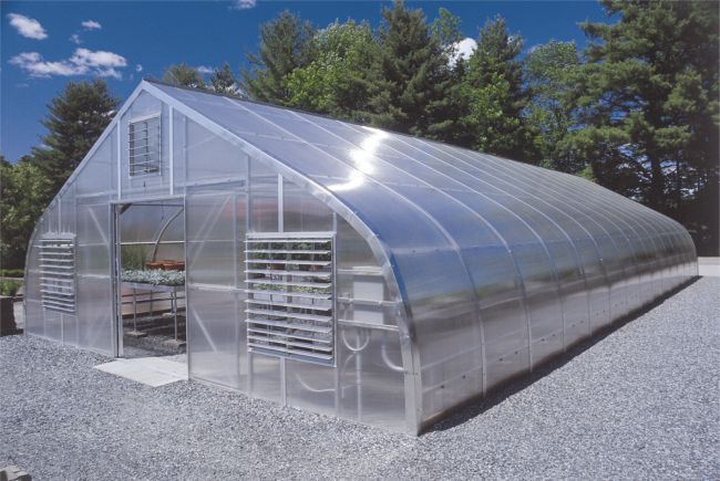 Gothic arch north greenhouse gothic arch greenhouses Greenhouse styles