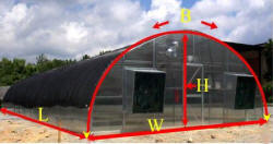 Quonset & High Tunnel Greenhouse