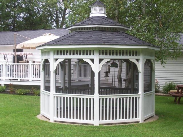 Octagon Gazebos Gothic Arch Greenhouses