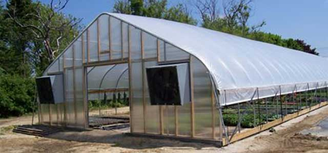 Organic Movable Greenhousese Gothic Arch Greenhouses