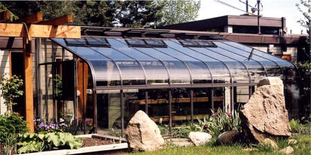 Pacific Glass Lean-To Greenhouses Single Tempered Glass, Brown Color Houses