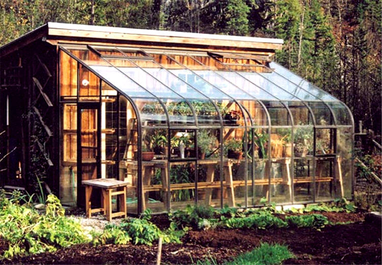 Pacific glass lean to greenhouse sale gothic arch for Gothic greenhouse plans