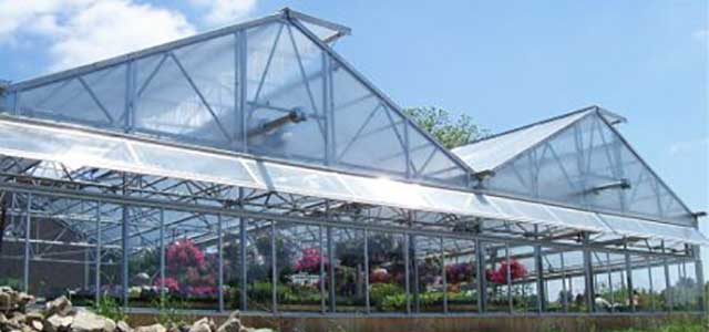 MT Peaked Roof Greenhouse