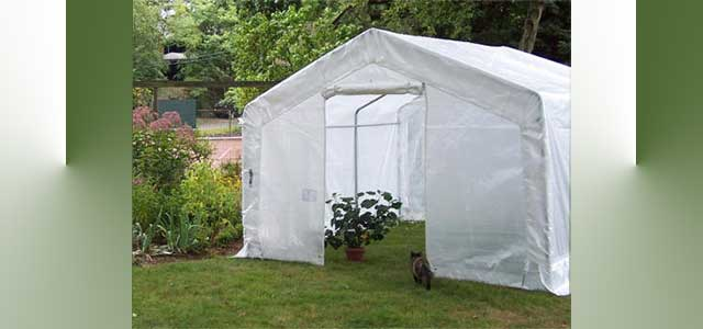 how to build a portable greenhouse