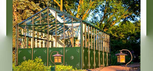 RBH- Glass Greenhouse - Green