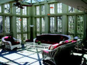 Glass sunroom,Custom Greenhouses-Luxury Greenhouse