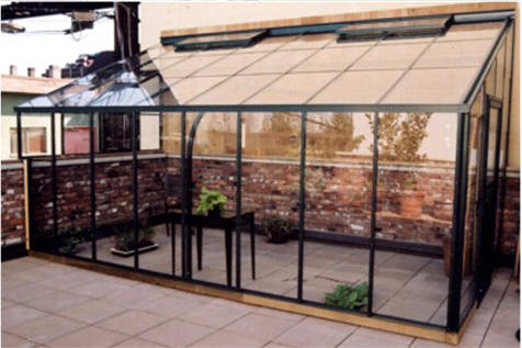 Traditional Glass Lean-to Greenhouse Sale | Gothic Arch