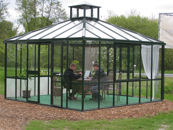 Garden Green Pavilion Greenhouse Victorian Glass Greenhouses