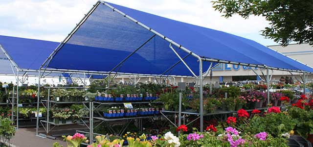A Frame Shade Cloth Gothic Arch Greenhouses