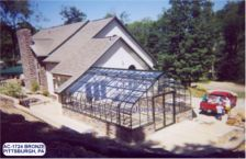 AC Garen Greenhouses Gable Attached
