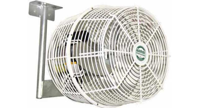 Greenhouse Air Circulation : Air flow haf fans gothic arch greenhouses