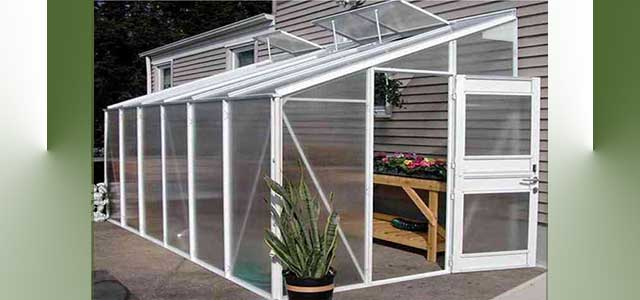 Aluminum Lean To Greenhouse Kits Sale Gothic Arch