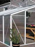 Aluminum Lean-To Greenhouse Kits