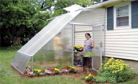 Lean To Greenhouses Attached Greenhouse Kits Are A Good Design On The