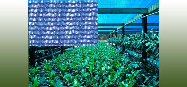 ChromatiNet Blue Shade Cloth