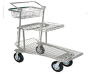 Brake Shopping Carts