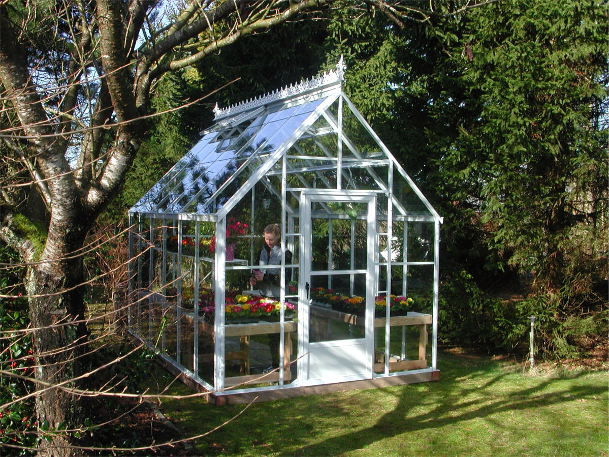 Cape cod glass greenhouse gothic arch greenhouses for Green house homes