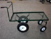 This heavy-duty cart is a favorite with both growers and This heavy-duty cart is a nice for both growers and retailers