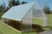 gable hight tunnel- High Tunnel is designed with the small fruit and specialty crop grower