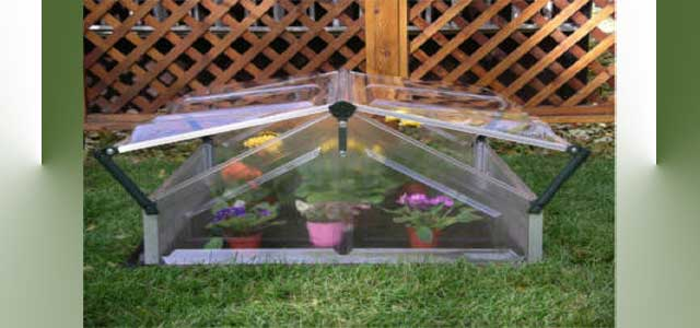 Mini Greenhouse Cold Frame Double