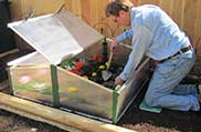 EZ Double Mini Cold Frame